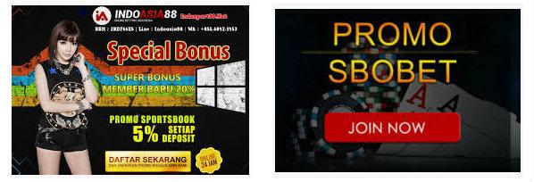 Promosi bonus agen judi Sbobet online